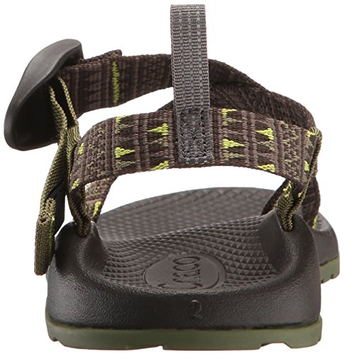 Chaco Z1 Ecotread Kids Sandal (Little Kid/Big Kid) Forest Points