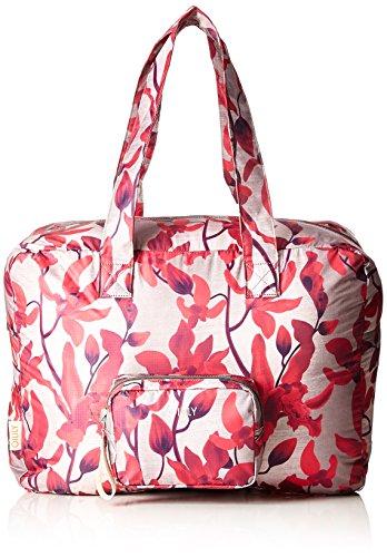 Oilily Damen Enjoy Travelbag Shz Stoff-und Strandtasche, Rot (Dark Red), 21.5x36x48 cm