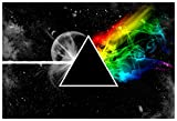 Rawpockets 'Pink Floyd' Wall Poster (Paper, 1 cm x 13 cm x 19 cm)