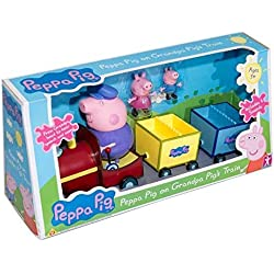 Peppa Pig sur Grandpa Cochons train