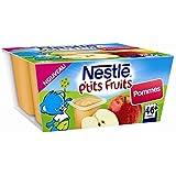 Nestlé p'tits fruits pomme 4x100g dès 6 mois - ( Prix Unitaire ) - Envoi Rapide Et Soignée