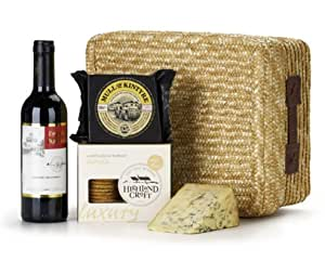 Hampers from Highland Fayre - Red Wine & Cheese Hamper