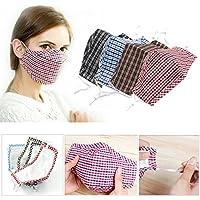 Bazaar Radfahren Anti Wind Staub Grippe Nose Mouth Muffel Tuch Abdeckungs Barrier Aktivkohle Baumwolle Face Mask Ohrbügel