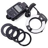Yongnuo YN-14EX Macro Ring TTL Flash Light + Adapter for Canon DSLR 6D
