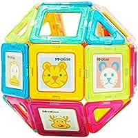110Pcs Juguetes Educativos para Niños Juguetes Magnéticos Palos