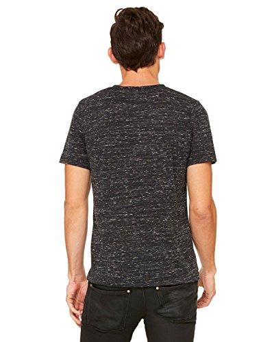 Wei§e Skelett HŠnde auf American Apparel Fine Jersey Shirt Schwarz