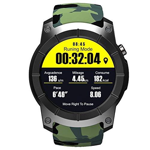 LCDIEB Reloj Deportivo Smart Watch GPS podómetro Fitness Tracker Monitor de Ritmo cardíaco Smartwatch...