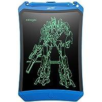 NEWYES LCD Writing Tablet Office Board mit Anti-Clearance Funktion und Dicke Linien 8,5 Zoll papierlos für Schreiben Malen Notizen Super in Büro mit Stift (Robot Blau)