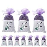 UniM, Bolsas de Lavanda Natural secas desodorizante de Lavanda – Repelente de polillas – 10 Paquetes de 200 g