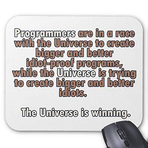 Programmers Vs Universe Mauspad Computer Mousepad 300 * 250 * 3mm