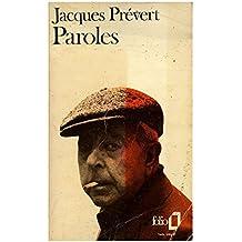 Paroles / Prévert, Jacques / Réf: 18039