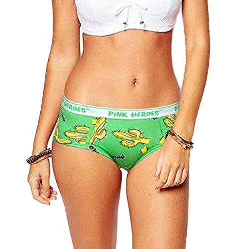 Unterwäsche Dessous lingerie Damen,Yanhoo Heiße Mode Frauen Lustige Dessous Liebhaber Frauen Unterwäsche Boxershorts Unterhose (L, Grün) (Lustiges Rotes Baby-doll)