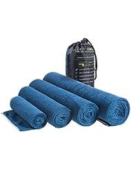 LightDRY Mikrofaser Handtuch Reisehandtuch für Sport und Trekking, Extra saugfähig & antibakteriell