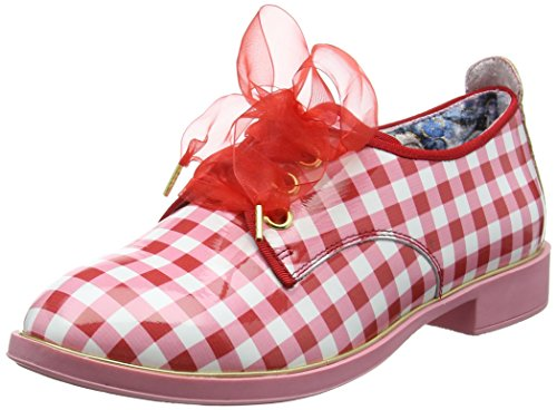 Red Choice Donna White Scarpe Day Derby Irregular Dreamy Stringate Red OxAq0vv7