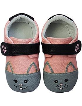 Rose & Chocolat Rcm Sweetheart Kitty Pink - Zapatos para Bebes Bebé-Niñas