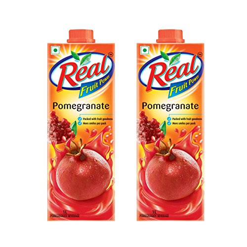 Real Fruit Power, Pomegranate, 1L (Pack of 2)