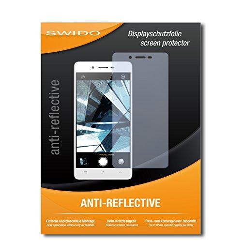 SWIDO Displayschutz für Oppo Mirror 5s [4 Stück] Anti-Reflex MATT Entspiegelnd, Hoher Härtegrad, Schutz vor Kratzer/Glasfolie, Schutzfolie, Displayschutzfolie, Panzerglas Folie