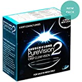 Bausch & Lomb Pure Vision 2 Contact Lense - 6 Pieces (-2.75)