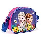 Kinder Handtasche 18x15x6 cm - Disney Frozen Collection - PINK/BLAU