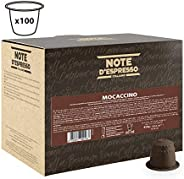 Note d'Espresso Mochaccino Instant Capsules 4.3g x 100 Instant Capsules Exclusively Compatible with Nespresso* machines
