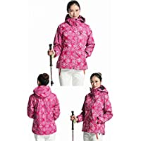 Abrigo de Asalto de la Manera Mujer Triple Combo Cálido Impermeable Fleece Fleece Chaqueta Asalto Abrigo Marea Femenina,Do,L
