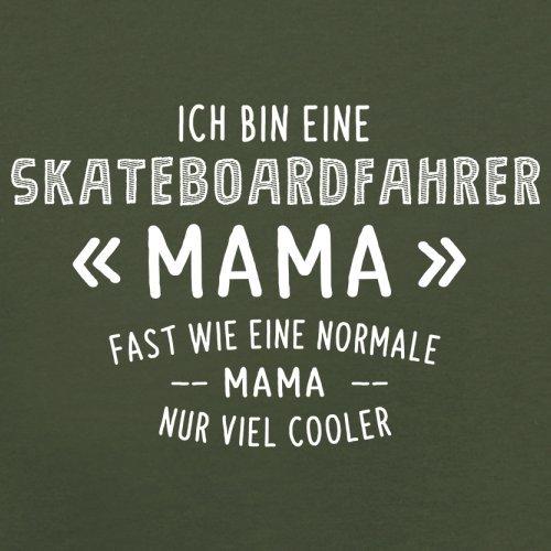Ich bin eine Skateboardfahrer Mama - Herren T-Shirt - 13 Farben Olivgrün
