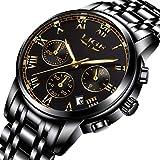 Best Simplicidad tarjetas de regalo - Reloj para hombre Fashion Luxury Cronógrafo relojes, resistente Review