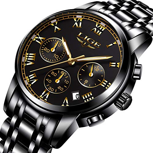 35031d26c4ca Reloj para hombre Fashion Luxury Cronógrafo relojes