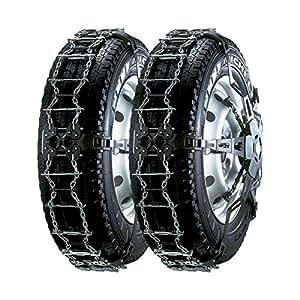 Chaines Neige Retension Automatique Trak Lts Roue Acier N°Lt53S (La Paire) 215/85R16 - 225/70R18 - 225/75R17 - 225/80R16 - 255/65R17 - 255/70R16 - 255/75R15 - 265/40R22 - 265/45R21 - 265/50R20 - 275/30R24 - 275/65R16 - 275/70R15 - 285/50R19 - 285/55R18 - 295/40R21 - 295/45R20 - 305/35R22
