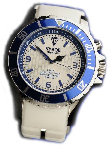 KYBOE! Reloj automático Unisex Blanco 55 mm