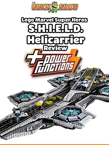 Review: Lego Marvel Super Heros S.H.I.E.L.D. Helicarrier + Power Functions Review [OV]