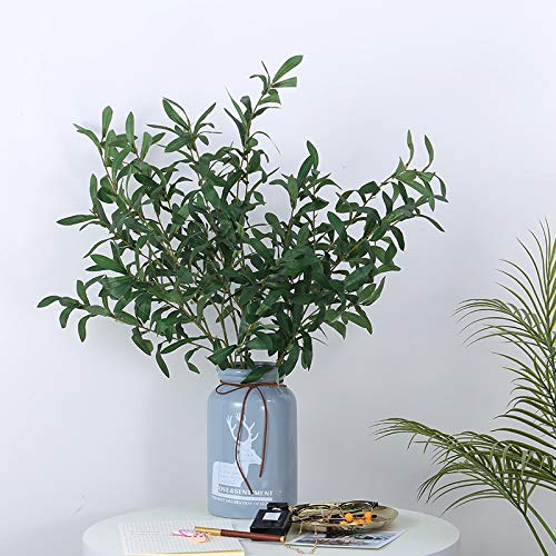 Powzz ornament Skulpturen Statuen Dekoartikel Einfache Moderne Kreative Vase Anordnung Blumenschmuck Container Jingdezhen Keramik Vase, Zwei Oliven Früchte (Einschließlich Vasen) Mesa Olive