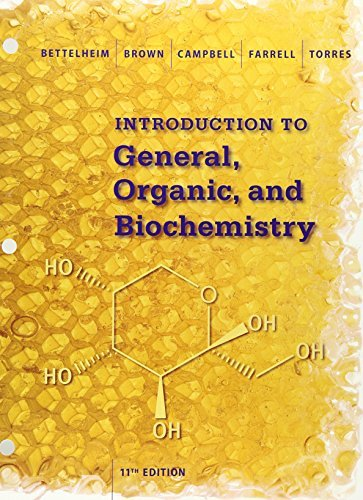 Introduction to General, Organic and Biochemistry by Frederick A. Bettelheim (2015-01-16)