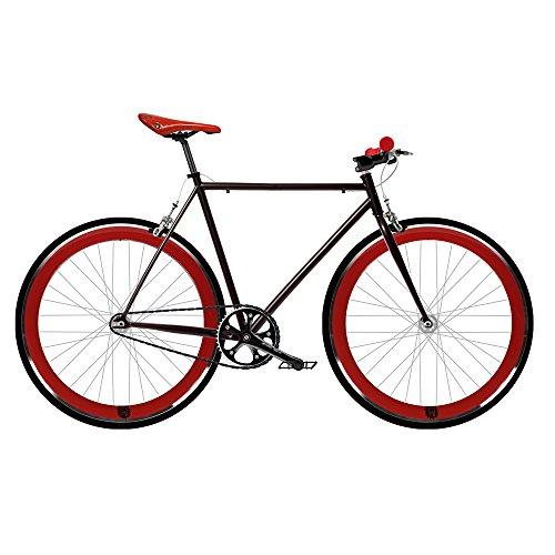 Bicicletta Fix 2rossa. Velocità Fixie/single speed. Taglia 56