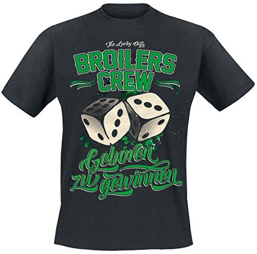 Broilers Geboren zu gewinnen T-Shirt nero S
