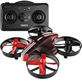 SANROCK Mini Drone do Kids and Beginner GD65A RC Drone Quadrocopter le Height-Hold, Mód Headless, One-Button Return, Toy Drone for Kids, Dath Dearg