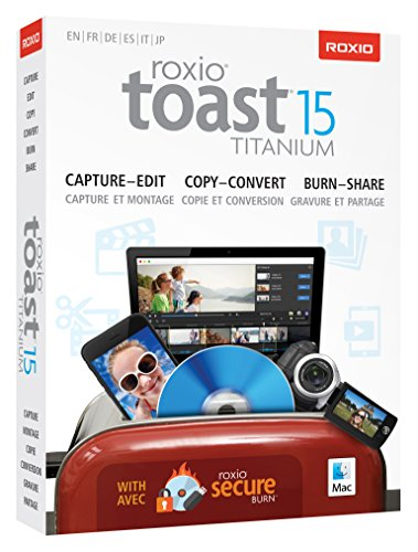 Preisvergleich Produktbild Roxio Toast 15 Titanium