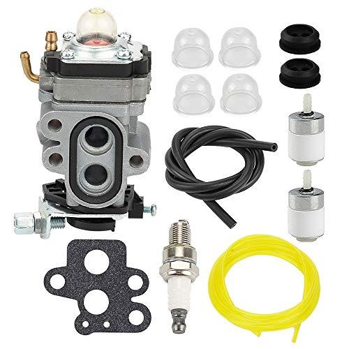 Butom 504116101 Carburetor Carb with Gasket Fuel Line Filter for Husqvarna  530BT 130BT RedMax EBZ3050RH EBZ3000RHCA Backpack Blower