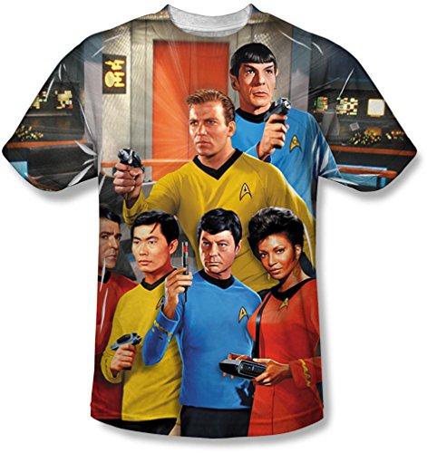 Star Trek - Mens Bridge T-Shirt
