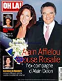 OH LA [No 223] du 25/12/2002 - MISS FRANCE 2003 VIENT DES ILES - ALAIN AFFLELOU EPOUSE ROSALIE - L'EX-COMPAGNE DE ALAIN DELON - CAROLINE DE HANOVRE / UN MONDIALE DE LA DANSE A MONACO