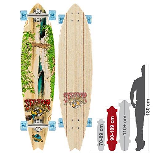 longboard-completo-sector-9-nica-238-x-1003-cm-completo-bamboo-taglia-unica