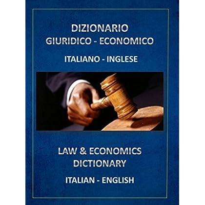 Dizionario Giuridico Economico Italiano Inglese