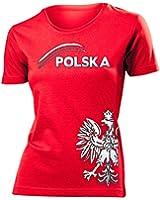 POLEN FANSHIRT FUSSBALL - FANARTIKEL T-Shirt Damen S-XXL