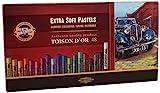Koh-I-NOOR Toison D 'or 8556Künstler-Extra weiche Pastellkreiden (48Stück)