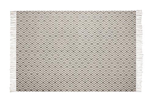 Alfombra de diseño moderno para salón - Hecha a Mano - Color Gris Taupe - 120x180 cm