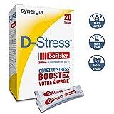 D-Stress Booster ➠ Magnésium hautement assimilé ➠ Formule exclusive de citrate de magnésium, taurine, vitamines B
