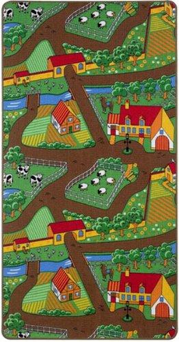 Unbekannt Meubinex FARMTR Farm Spielteppich 80x150cm