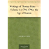 Writings of Thomas Paine - Volume 4 (1794-1796): the Age of Reason