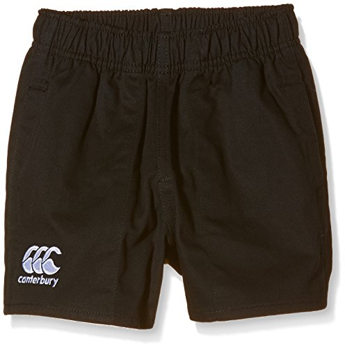 Canterbury Boys' Professional Cotton Short - Black, 14