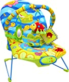 Baby Vibrating Musical Bouncy Chair, Bouncer Chair, Bouncing Chair Bright Frog